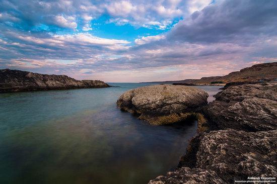 Beach in Golubaya Bay, Caspian Sea, Kazakhstan, photo 4