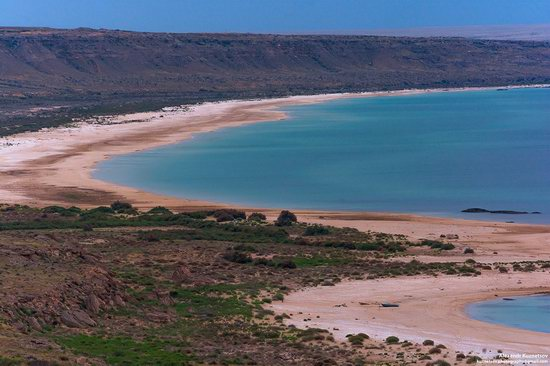 Beach in Golubaya Bay, Caspian Sea, Kazakhstan, photo 5