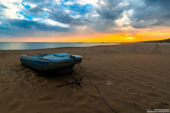 Beach in Golubaya Bay, Caspian Sea, Kazakhstan, photo 7