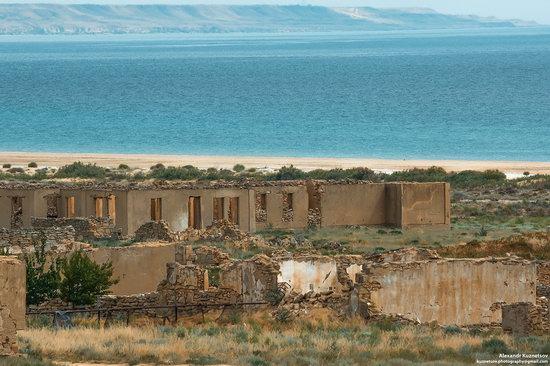 Beach in Golubaya Bay, Caspian Sea, Kazakhstan, photo 9