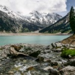 The beauty of Big Almaty Lake