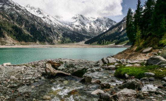 Big Almaty Lake, Kazakhstan, photo 1