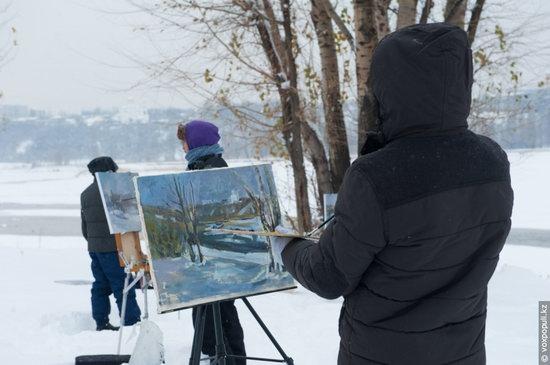 Almaty after heavy snowfall, Kazakhstan, photo 11