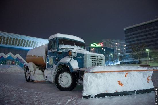 Almaty after heavy snowfall, Kazakhstan, photo 21