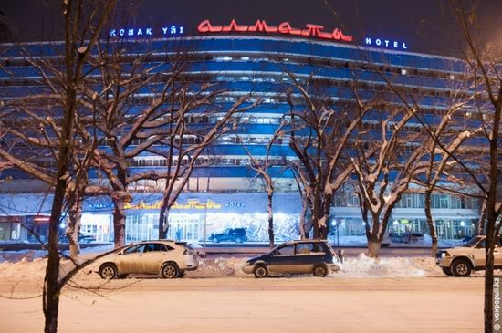 Almaty after heavy snowfall, Kazakhstan, photo 22