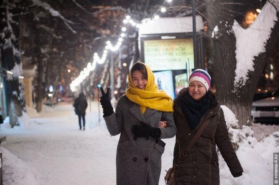 Almaty after heavy snowfall, Kazakhstan, photo 24