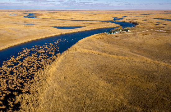 Autumn in the delta of the Ili River, Kazakhstan, photo 7