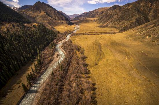 Chilik (Shelek) River, Kazakhstan, photo 8
