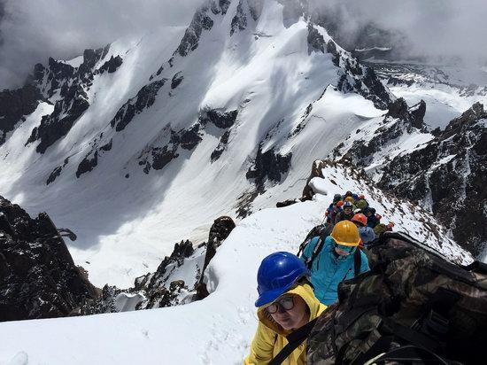 Climbing Nursultan Peak, Kazakhstan, photo 10