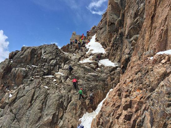 Climbing Nursultan Peak, Kazakhstan, photo 12
