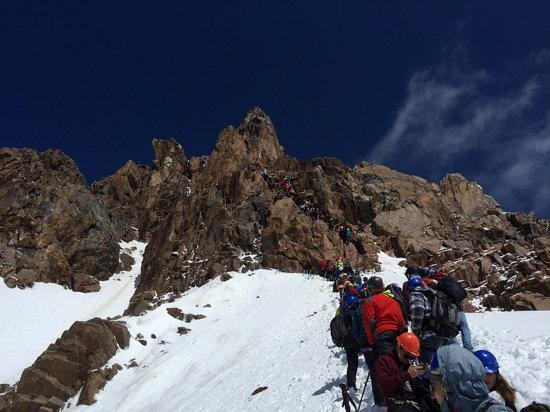 Climbing Nursultan Peak, Kazakhstan, photo 8