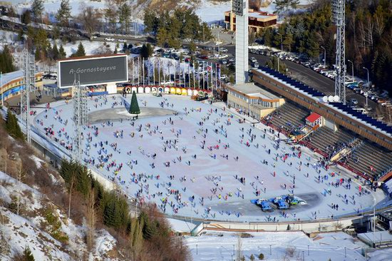 Medeu skating rink, Almaty, Kazakhstan, photo 7
