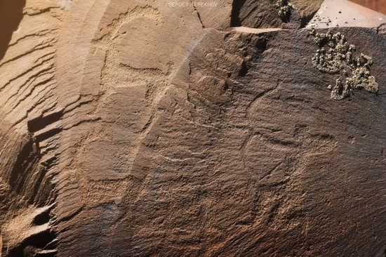 Ancient Petroglyphs of Bayan-Zhurek, Almaty region, Kazakhstan, photo 6