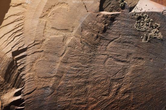 Ancient Petroglyphs of Bayan-Zhurek, Almaty region, Kazakhstan, photo 6