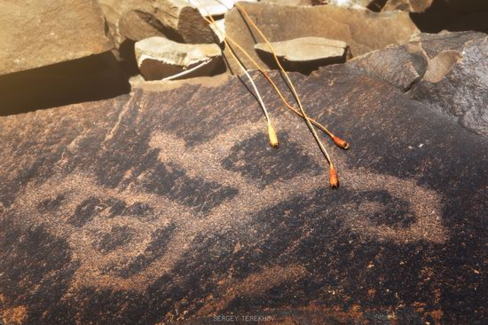 Ancient Petroglyphs of Bayan-Zhurek, Almaty region, Kazakhstan, photo 7