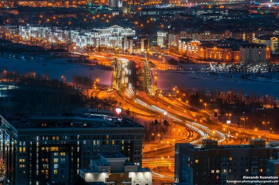 Astana, Kazakhstan - the view from above, photo 1