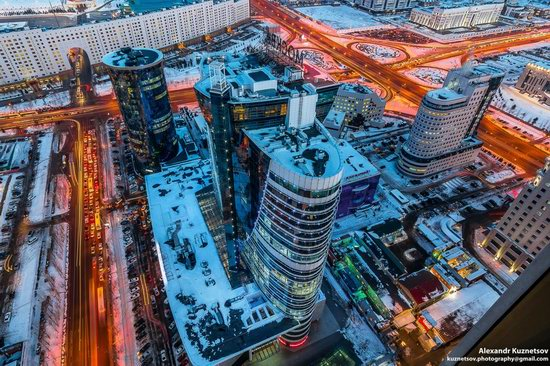 Astana, Kazakhstan - the view from above, photo 11