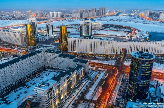 Astana, Kazakhstan - the view from above, photo 12