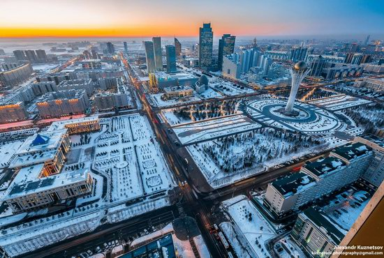 Astana, Kazakhstan - the view from above, photo 13
