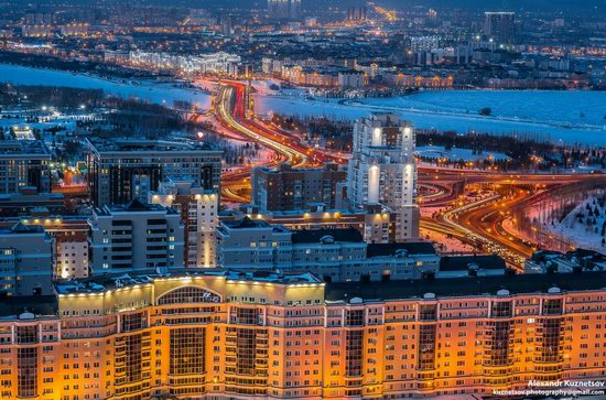 Astana, Kazakhstan - the view from above, photo 16