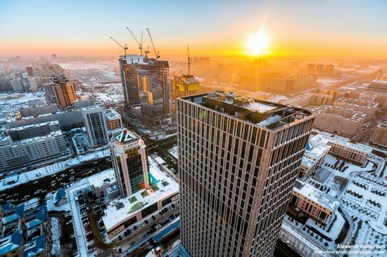 Astana, Kazakhstan - the view from above, photo 17