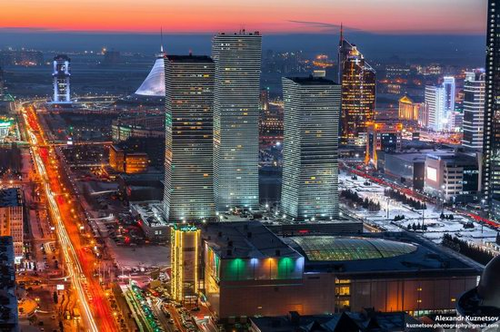 Astana, Kazakhstan - the view from above, photo 3