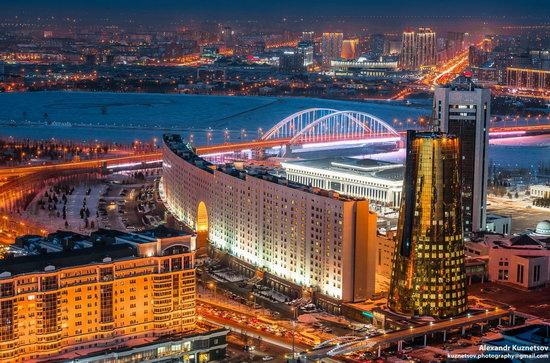 Astana, Kazakhstan - the view from above, photo 4