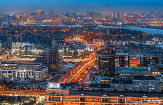 Astana, Kazakhstan - the view from above, photo 5