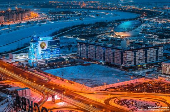 Astana, Kazakhstan - the view from above, photo 6