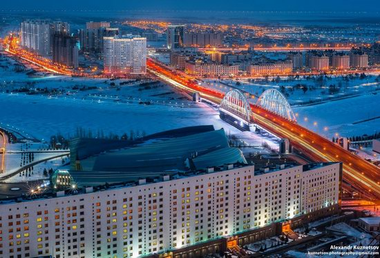 Astana, Kazakhstan - the view from above, photo 7