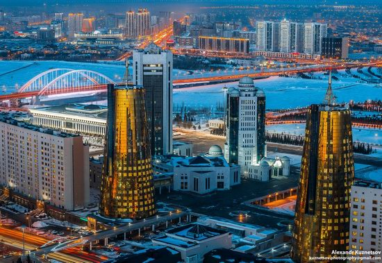 Astana, Kazakhstan - the view from above, photo 9