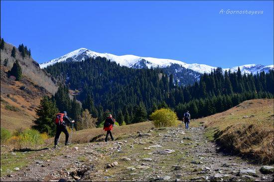 Hiking in Butakovskoe Gorge, Almaty, Kazakhstan, photo 1