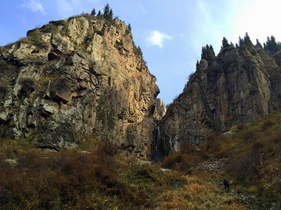 Hiking in Butakovskoe Gorge, Almaty, Kazakhstan, photo 19
