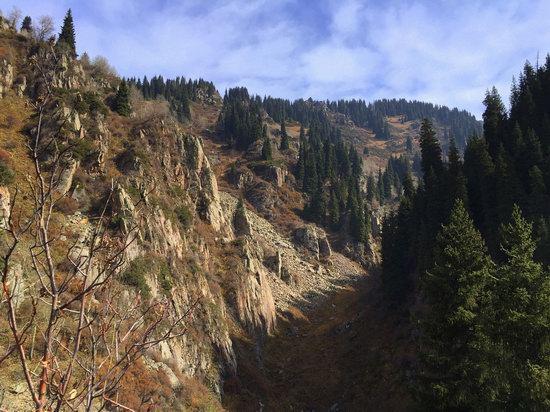 Hiking in Butakovskoe Gorge, Almaty, Kazakhstan, photo 20