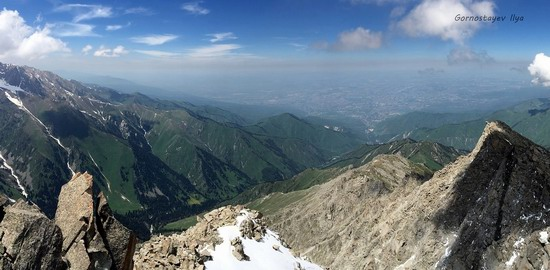 Climbing Big Almaty Peak, Kazakhstan, photo 11