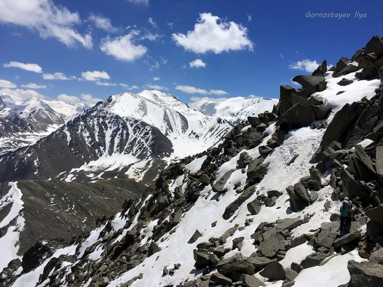 Climbing Big Almaty Peak, Kazakhstan, photo 8