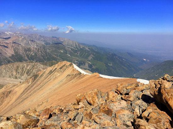 Climbing Peak Molodezhny, Kazakhstan, photo 14