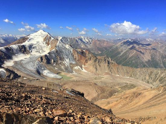 Climbing Peak Molodezhny, Kazakhstan, photo 15