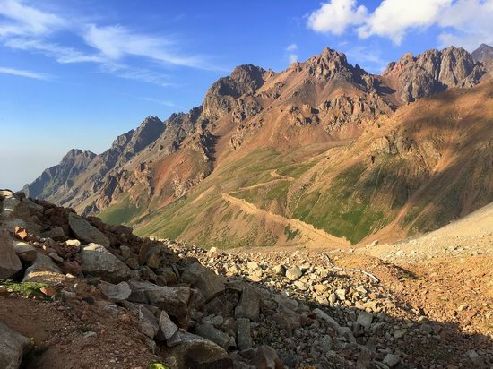 Climbing Peak Molodezhny, Kazakhstan, photo 2