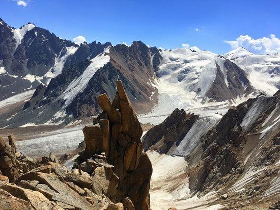 Climbing Peak Molodezhny, Kazakhstan, photo 20