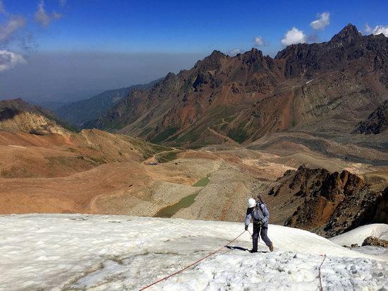 Climbing Peak Molodezhny, Kazakhstan, photo 21