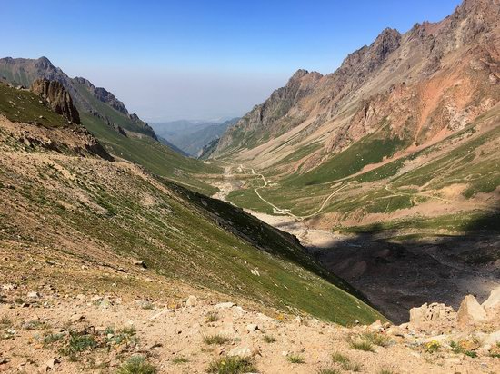 Climbing Peak Molodezhny, Kazakhstan, photo 25