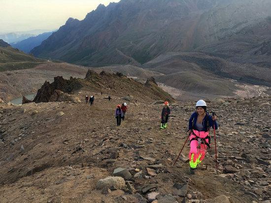 Climbing Peak Molodezhny, Kazakhstan, photo 6
