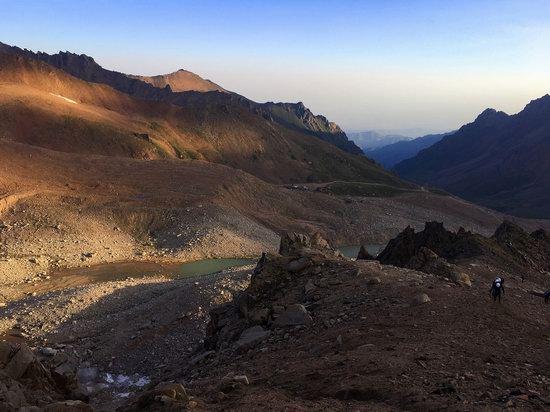 Climbing Peak Molodezhny, Kazakhstan, photo 7