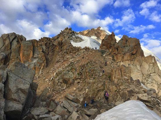 Climbing Peak Molodezhny, Kazakhstan, photo 9