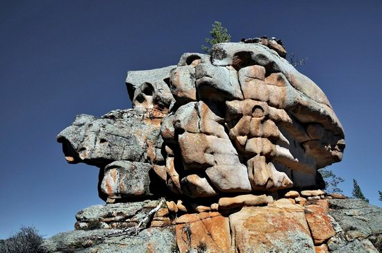 Bizarre Rocks of the Kent Mountains, Kazakhstan, photo 1