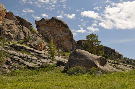 Bizarre Rocks of the Kent Mountains, Kazakhstan, photo 15