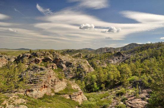 Bizarre Rocks of the Kent Mountains, Kazakhstan, photo 17