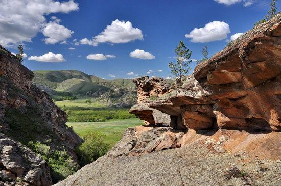 Bizarre Rocks of the Kent Mountains, Kazakhstan, photo 18