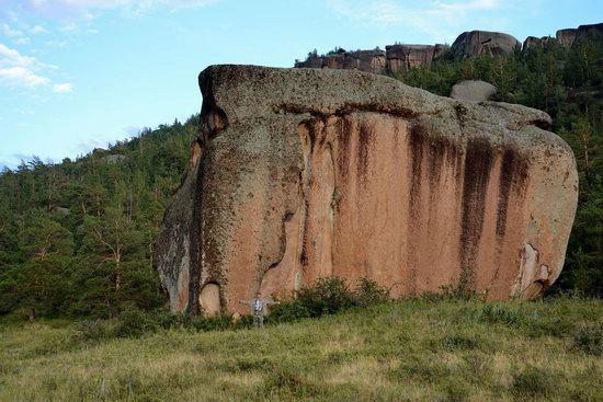 Bizarre Rocks of the Kent Mountains, Kazakhstan, photo 19